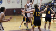 Girls basketball beats Unionville in double header