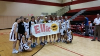 Ellie Mack scores 1,000th point in final girls basketball game