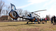 Video: JeffSTAT lands helicopter for Career Days
