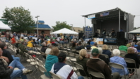 A downcast sky for the Paoli Blues Fest
